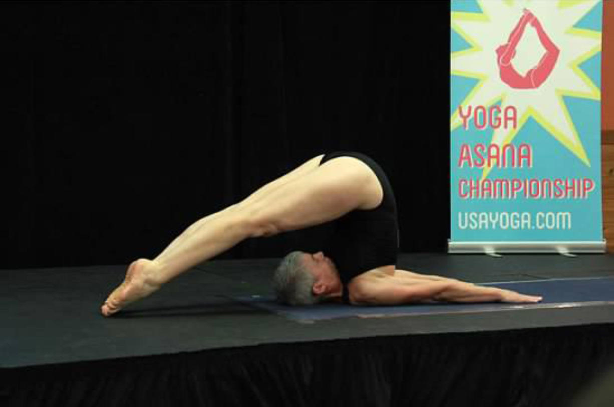 Fisher's Landing East: Bonnie Bingle of Vancouver topped the Master's (55 and up) category in the state yoga competition on Nov.