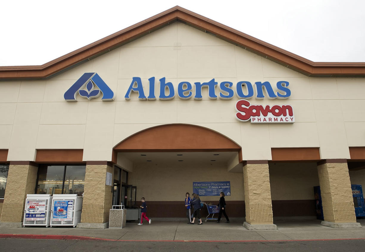 Albertsons announced Monday it will be closing two under-performing stores in Vancouver, including the East Fourth Plain store pictured and a store in the Padden Parkway Marketplace.