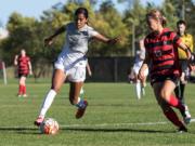 Kavita Battan, University of Idaho soccer.