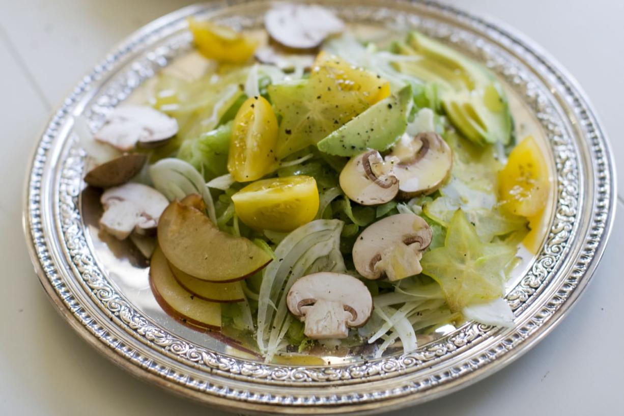 The humble celery stalk is the foundation for this crunchy salad. Add a lemon vinaigrette, thin ribbons of real Parmigiano-Reggiano cheese and the add-ins of your choice.