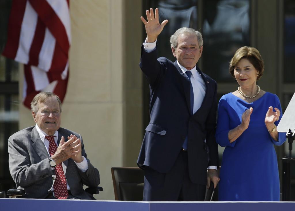 Elder Bush S Biography Hits Hard The Columbian