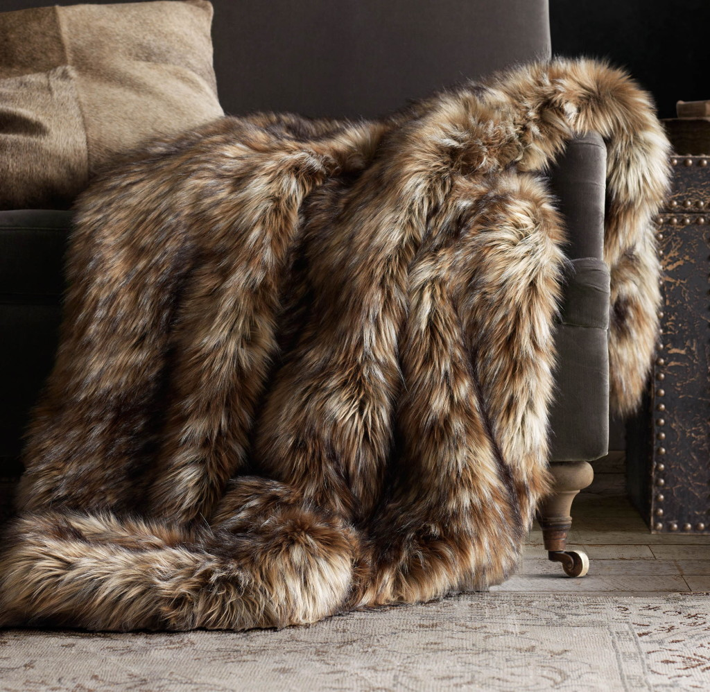 Faux Fur Adds Panache To Fall Home Decor The Columbian