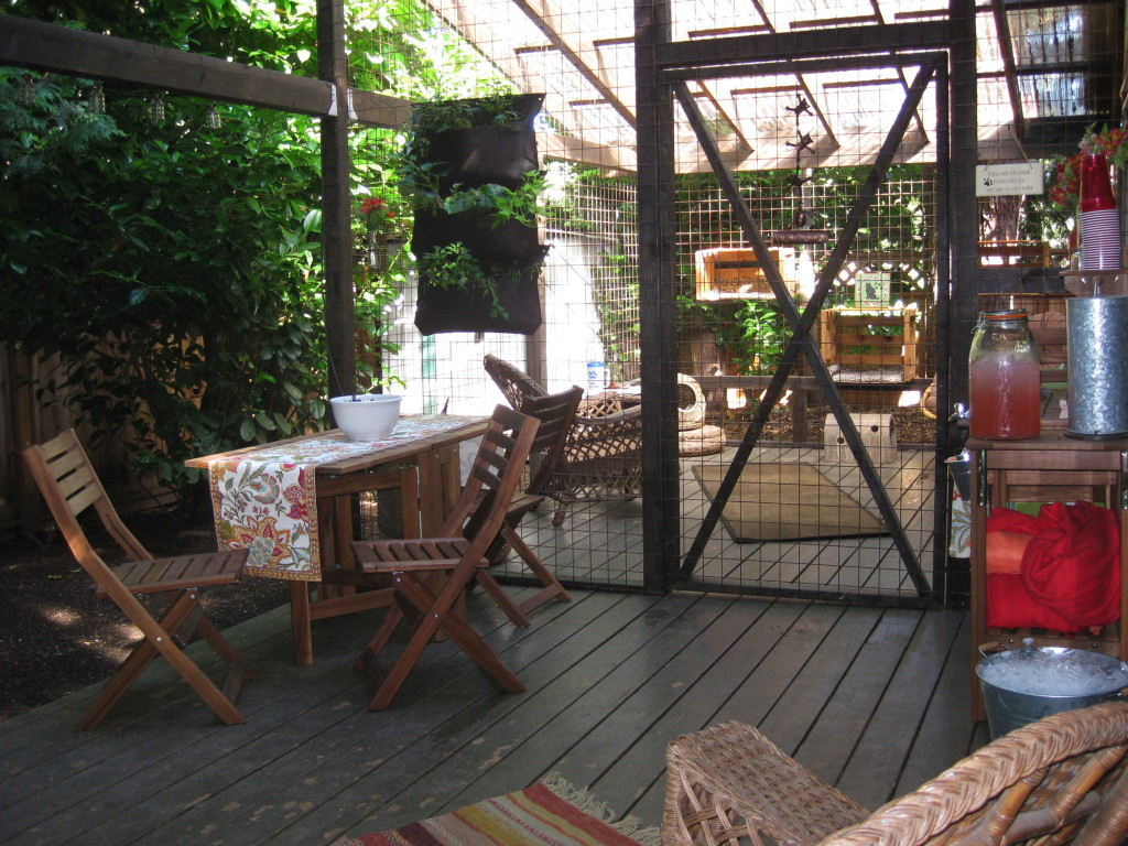 Carrie Erstrom S Catio Cost 5 000 To Build At Her Portland Home