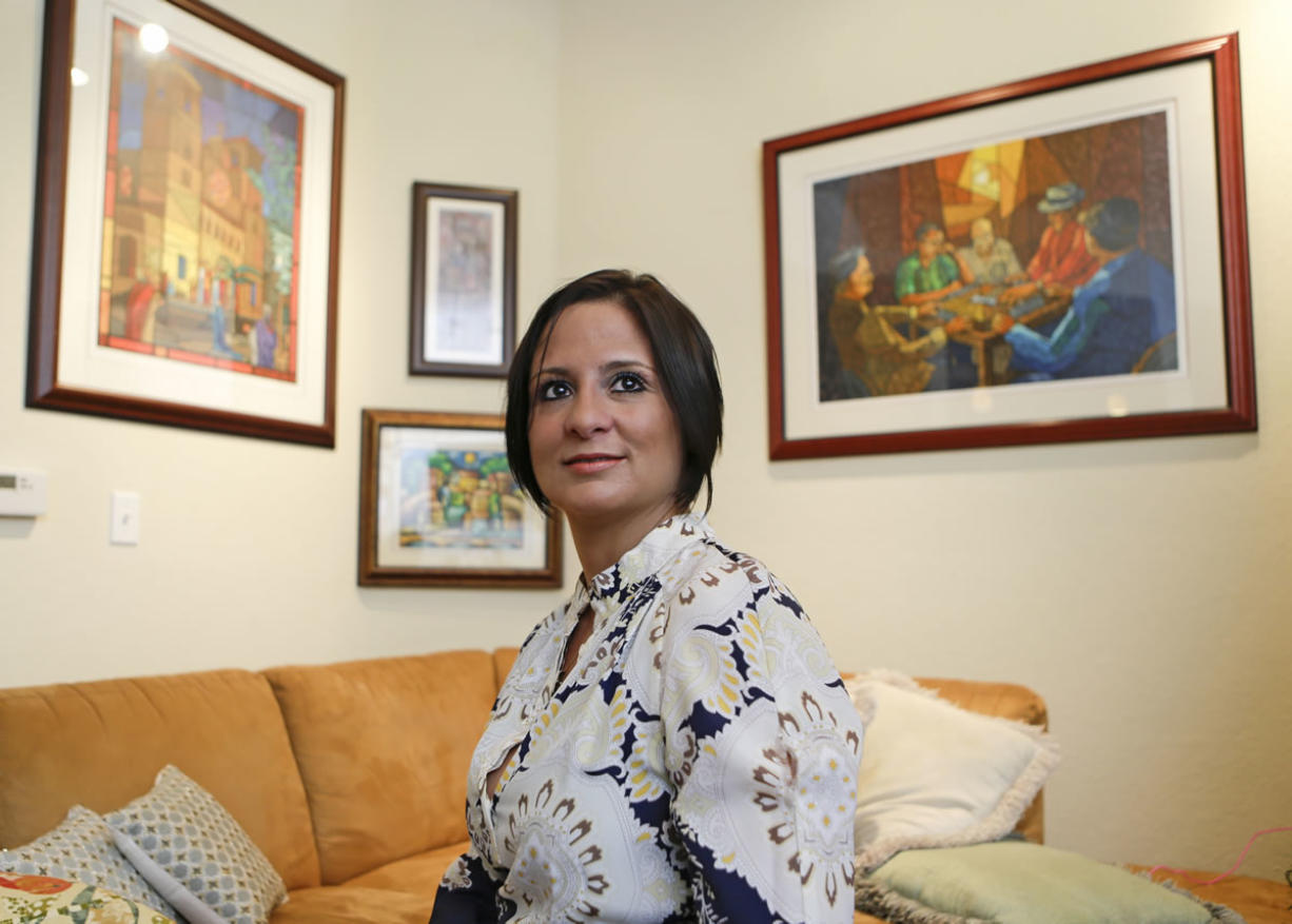 """""""One of the reasons that my husband and I moved here to Florida was to not feel like a second-class citizen."""" Iara Rodriguez Puerto Rican attorney"""