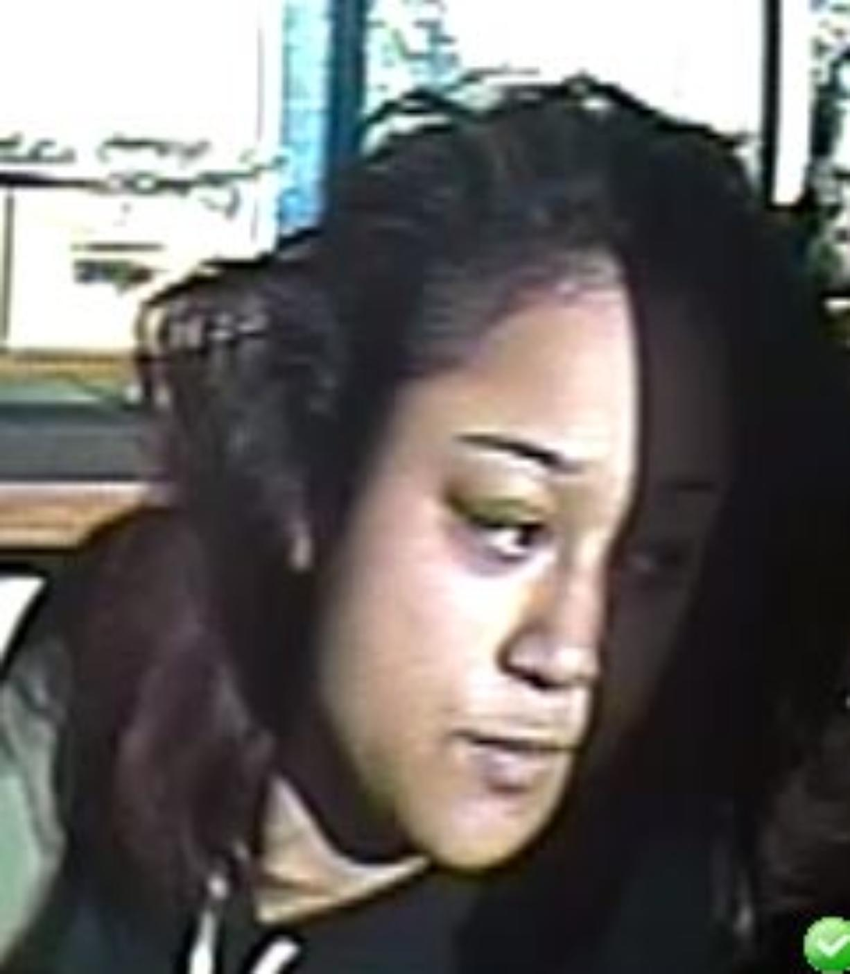 The Vancouver Police Department is asking for the public's help identifying this woman, who is a suspect in Wednesday's homicide investigation in downtown Vancouver.