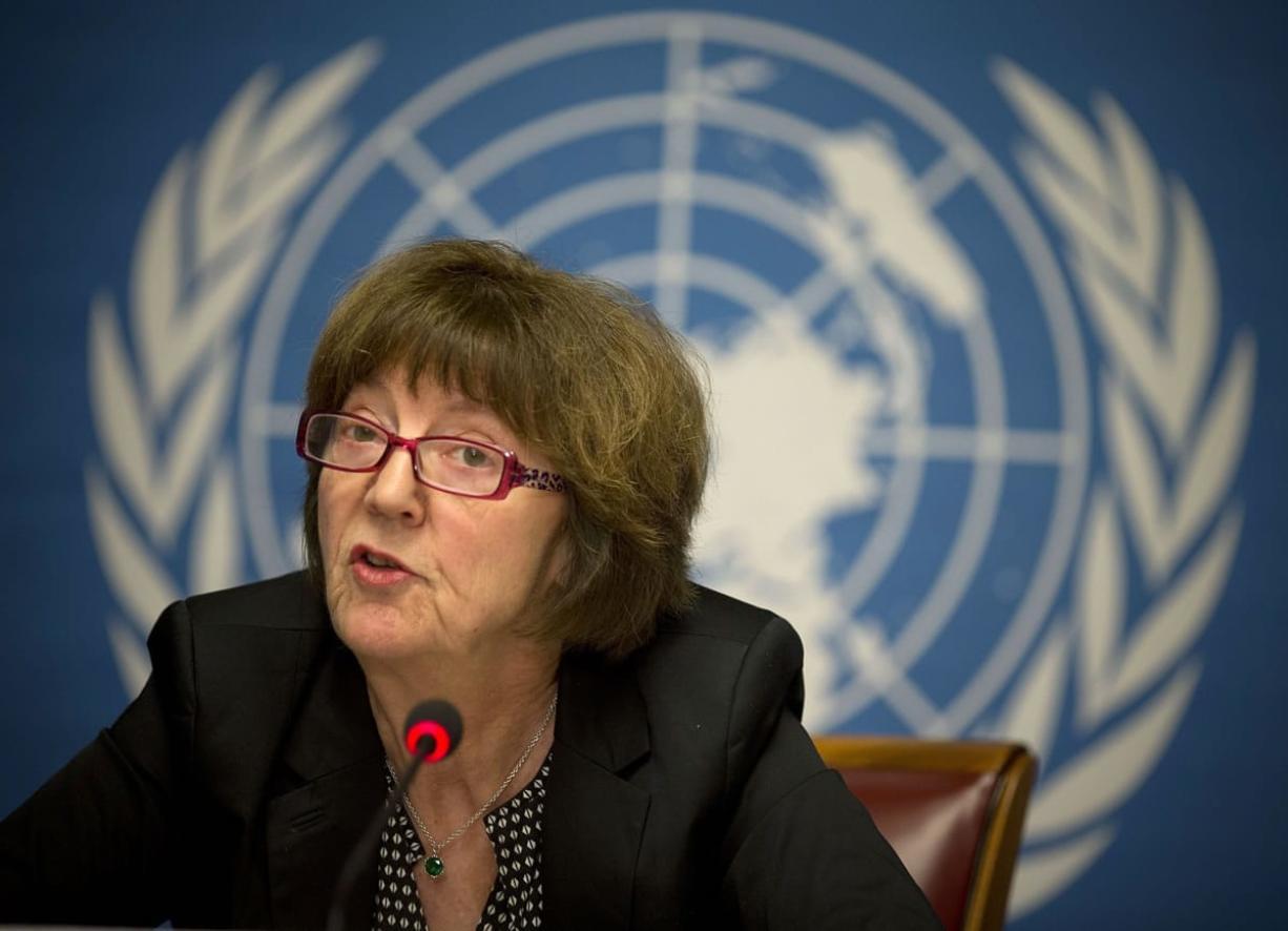 Kirsten Sandberg, chairwoman of the U.N.