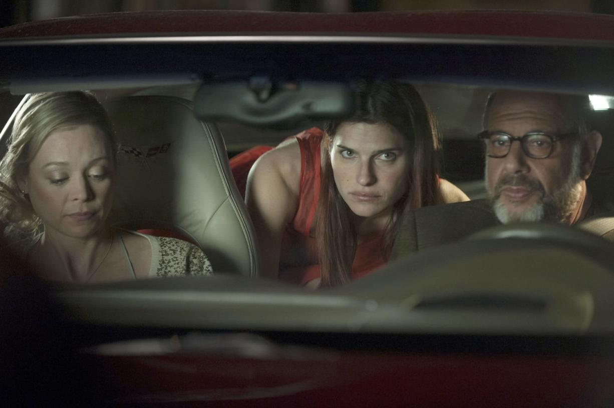 """Roadside Attractions Lake Bell, middle, plays a voice coach motivated by her father (Fred Melamed) in """"In a World ...,"""" which mixes drama and levity that could spell a summer movie sleeper hit."""