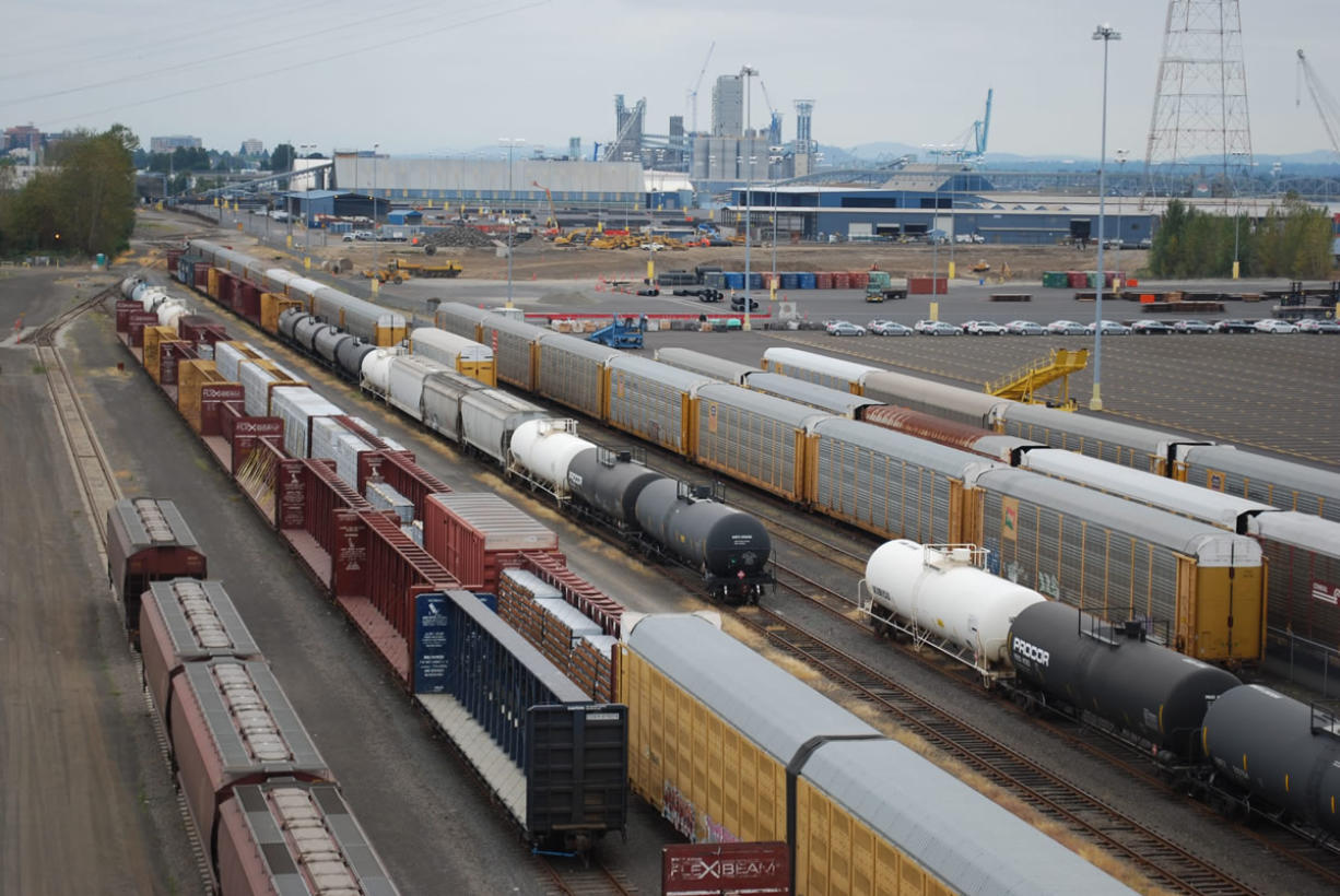 The Port of Vancouver has invested heavily in rail facilities, which was a major factor in attracting a plan by Tesoro Corp. and Savage Companies to build an oil transfer terminal.