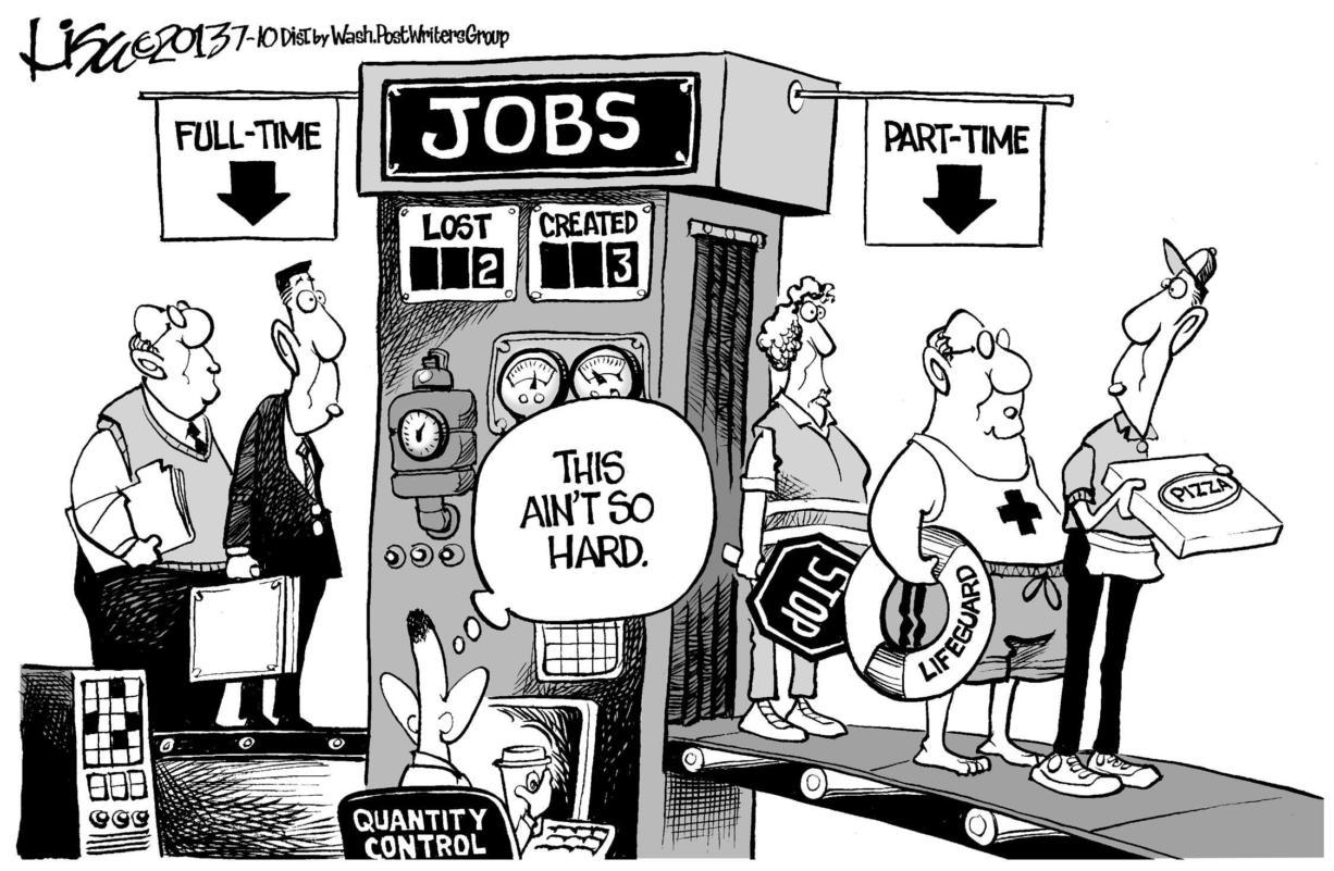 Editorial Cartoon Job Creation The Columbian