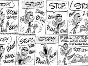 Stop, or we'll say stop again