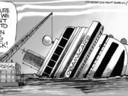 Congress Abandons Sinking Ship