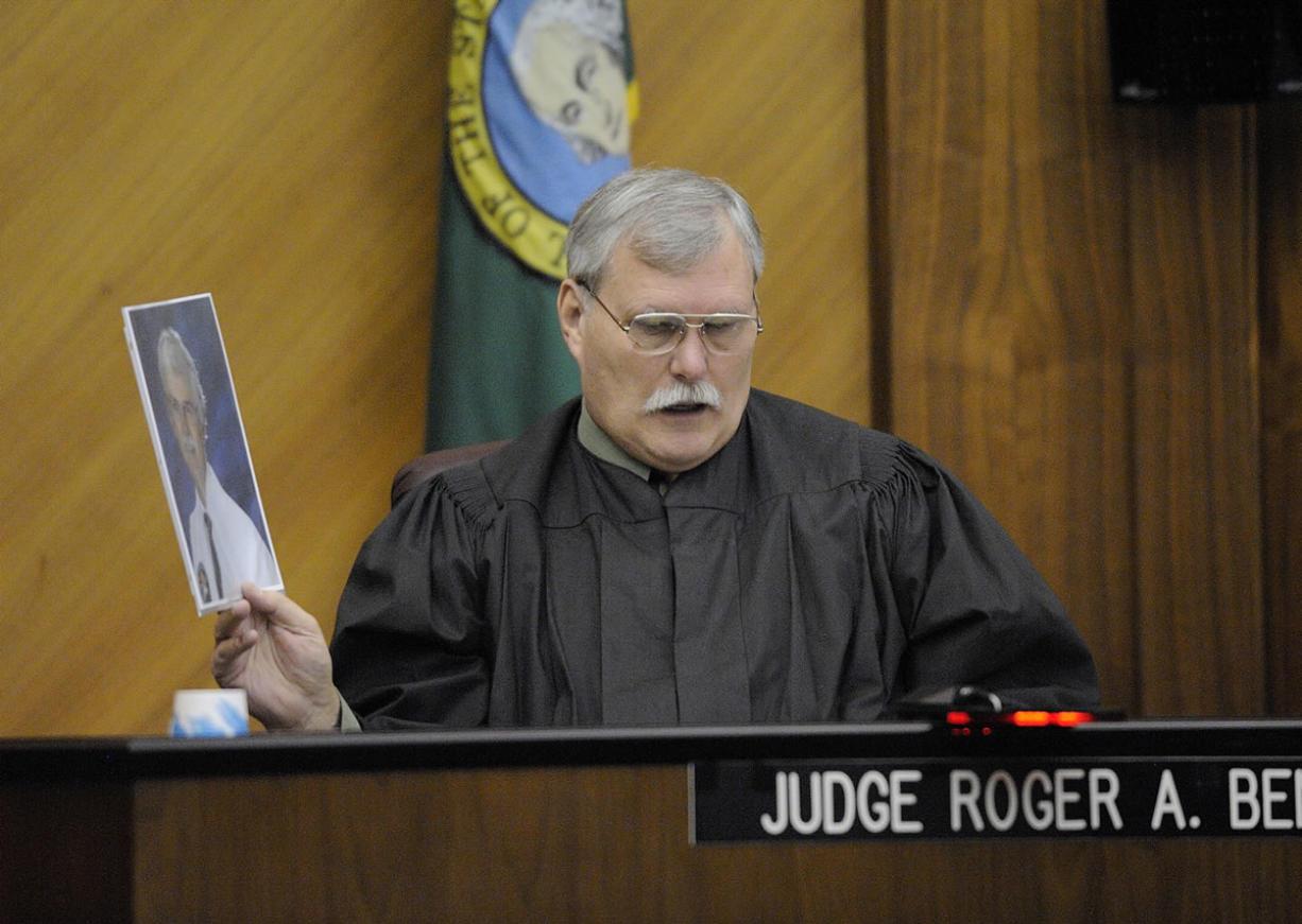 Retired judge returns to bench in Battle Ground - Columbian com