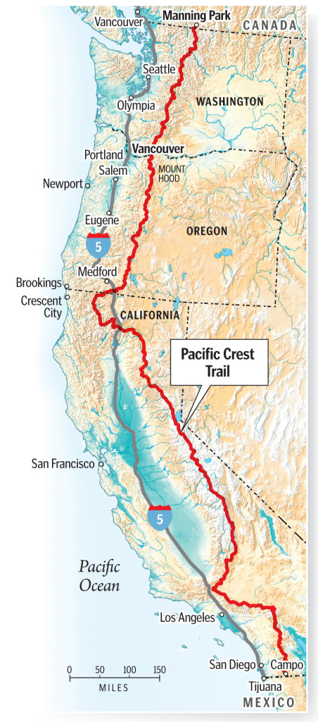 Vancouver woman tests her limits on Pacific Crest Trail | The Columbian