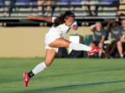 Eryn Brown, a redshirt junior at Portland State, has scored five goals in five games so far this season.