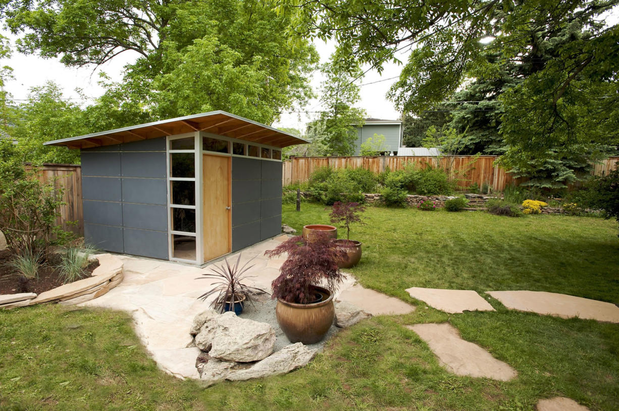 The original Studio Shed storage model was designed and built in 2006.