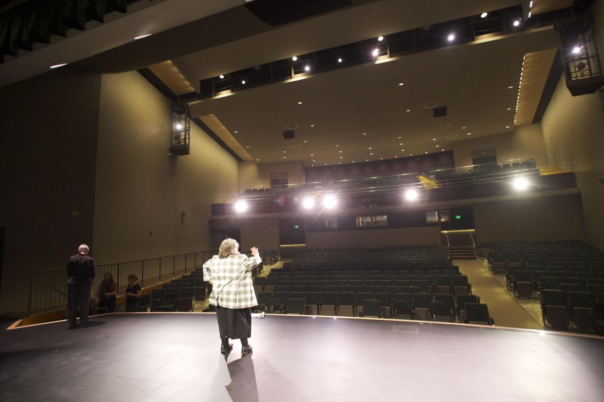 The public is invited to Wednesday night's grand reopening of the 637-seat Lloyd Auditorium at the Washington School for the Deaf. The auditorium was closed for three years while improvements were made.