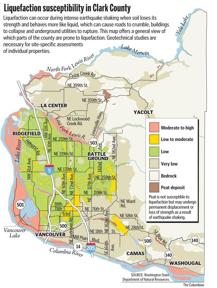 Unshaken Complacency Unprepared For Quake The Columbian