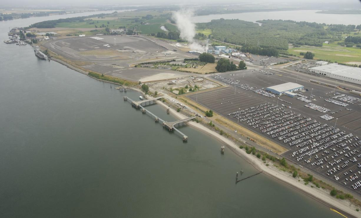 Terminal 5 is the proposed site for an oil terminal at the Port of Vancouver.