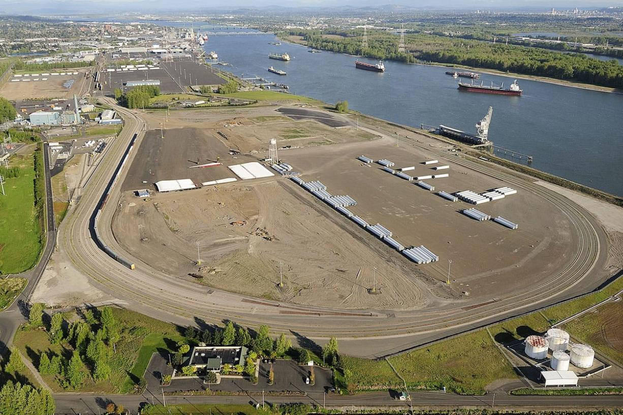 The proposed oil-by-rail project at the Port of Vancouver's Terminal 5 was the top business story of 2015.
