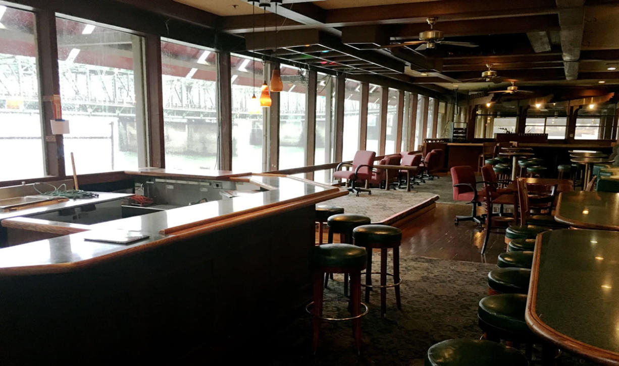 Torque Coffee moved into the former Red Lion at the Quay on the waterfront, at 100 Columbia St., at the beginning of the year. The Port of Vancouver, which owns the building on Terminal One, has sued the coffee shop for failing to pay rent.