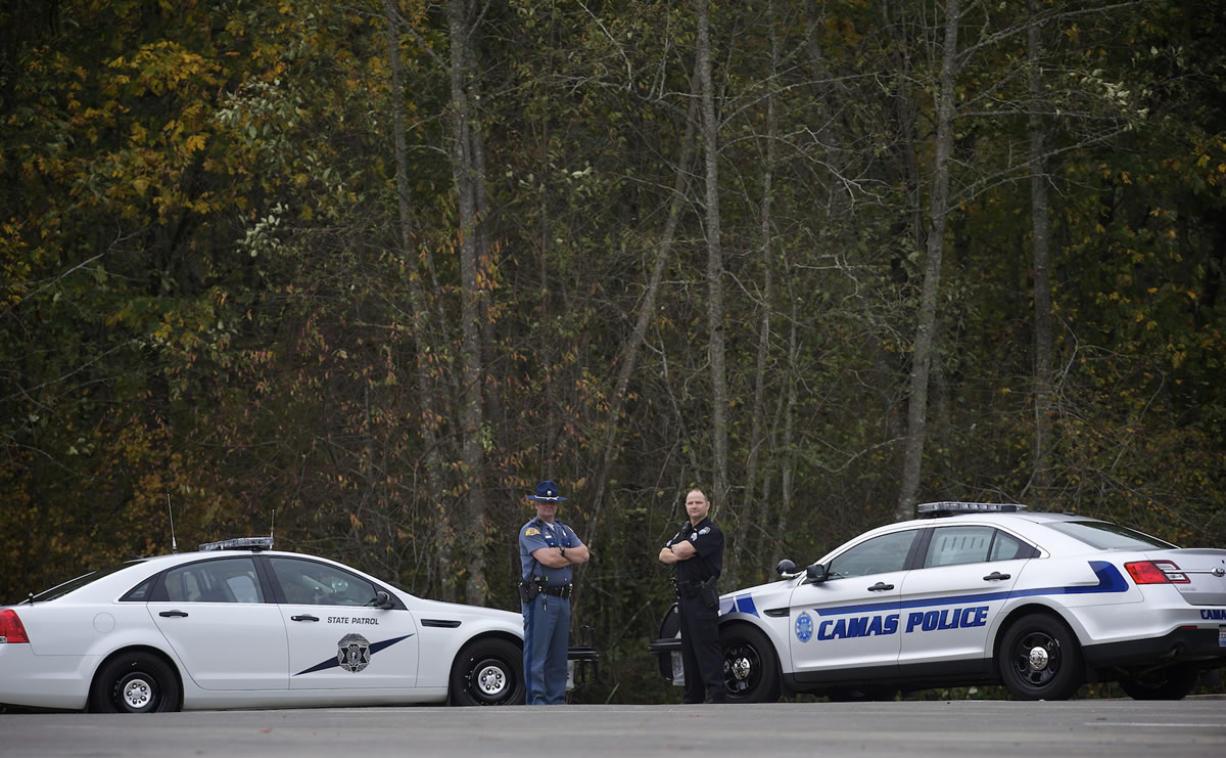 Washington State Trooper Jeff Heath and Camas Police Sgt.