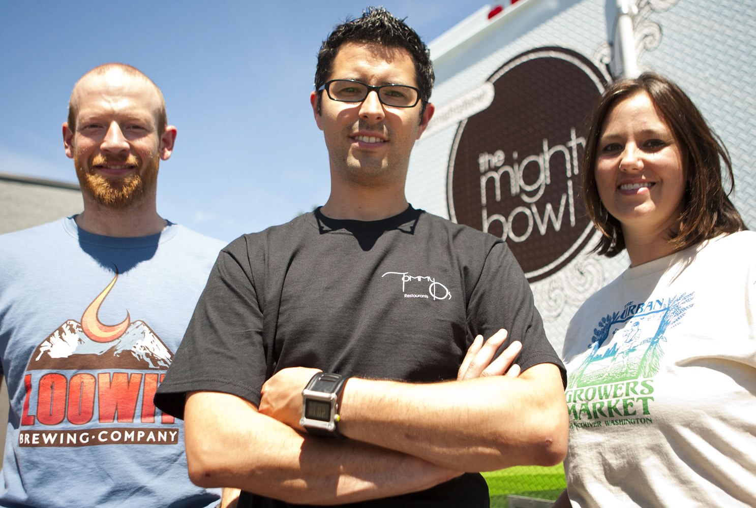 Kevin DeGraw, Steve Valenta and Sherilee Valenta began their food truck business after seeing the success of other food trucks in Portland.