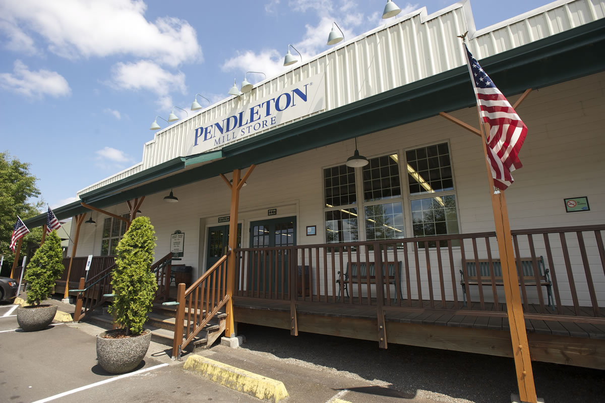 The Pendleton Mill Store in Washougal will be the site of some of this weekend's events celebrating Pendleton Woolen Mills' 100th anniversary.