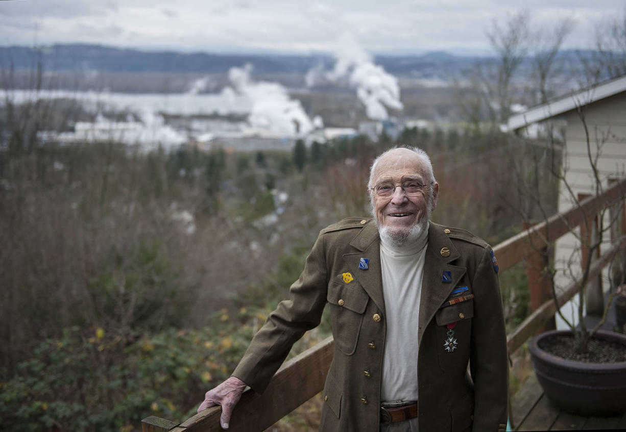 Dr. Ed McAninch, a longtime Camas physician, is a recent recipient of the Legion of Honor medal from the French government as one of the American veterans who helped liberate France during World War II.