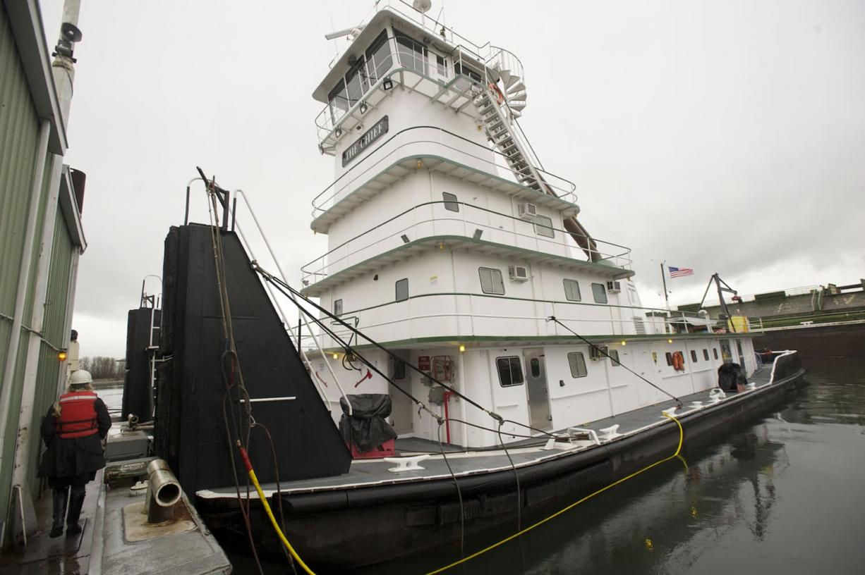 Tidewater barges ahead water transportation firm focuses on