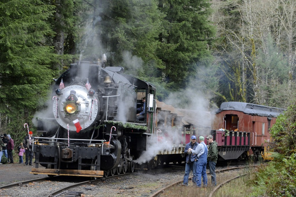 Chelatchie Prairie Railroad Christmas Trains Return This Weekend