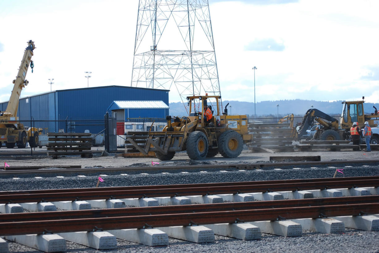 The Port of Vancouver is expanding its rail system from 16 miles to 44 miles of tracks.