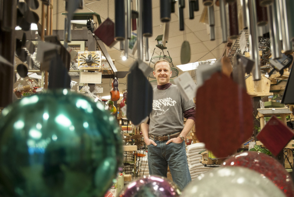 Todd Kapral, Owner Of Backyard Bird Shop, Says One Of His Favorite Aspects  Of