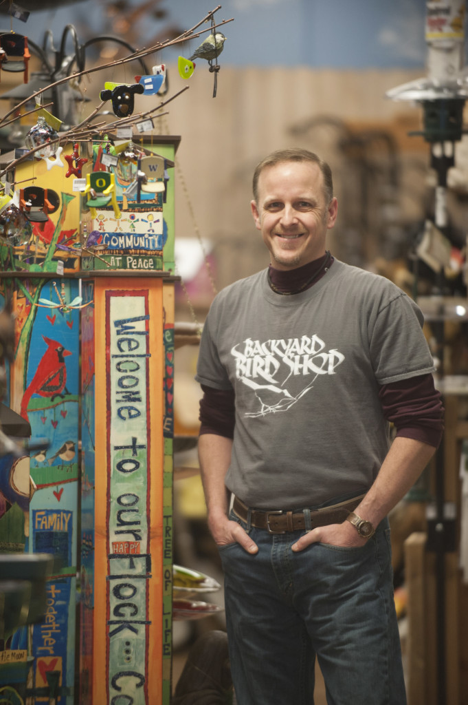 Todd Kapral Is Owner Of Backyard Bird Shop In Vancouver. (Natalie  Behring/The