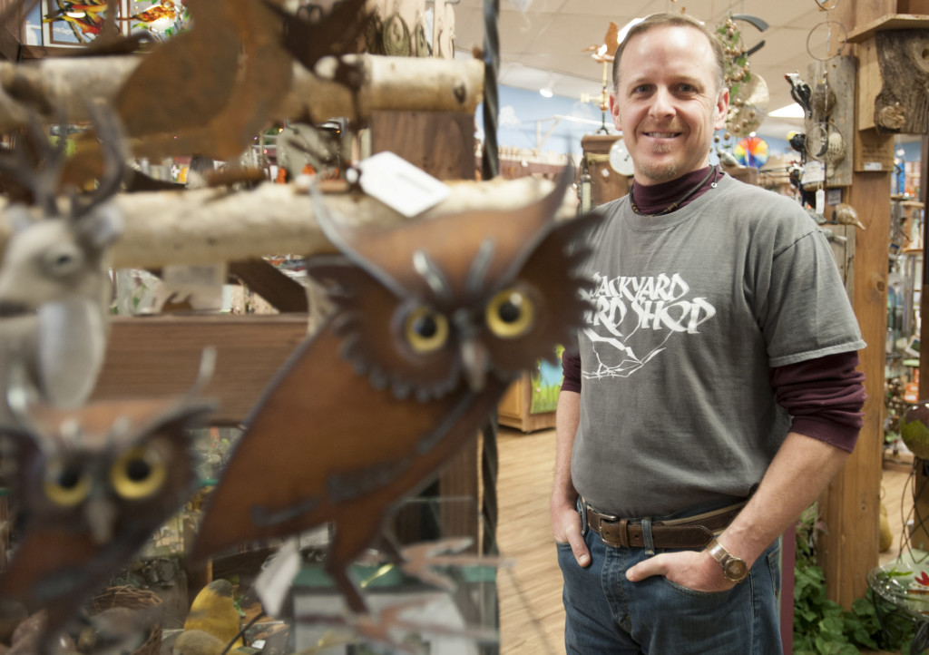 Perfect Todd Kapral Owns Backyard Bird Shop In Vancouver. (Natalie Behring/The  Columbian)