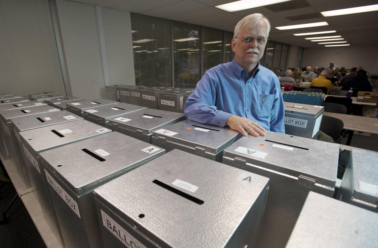 Clark County Elections Supervisor Tim Likness, who has worked in the Clark County elections office since 1979, is retiring in April. The Nov.