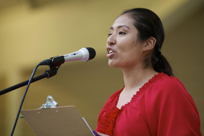 Alejandra Silva Hernandez, who came to the U.S.