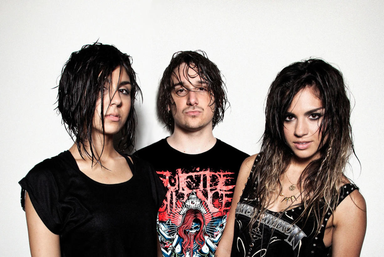 Electronic dance music trio Krewella will perform Sept.
