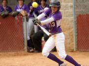 Linfield softball player Grace Middelstadt