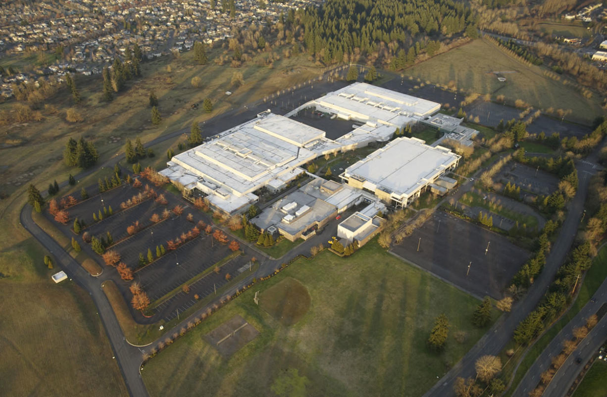 Integra Telecom is the primary tenant of the former Hewlett-Packard campus along Southeast 34th Street in east Vancouver.