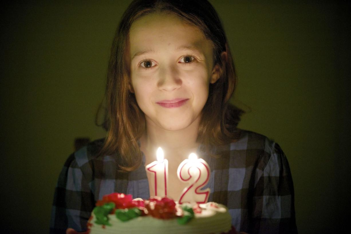 """Megan Meek, from Battle Ground, joked with friends that her 12th birthday today, 12/12/12, is so unique in its symmetry that it just might cause a """"ripple in the space-time continuum."""" If you're reading this, that cataclysmic prediction did not occur."""