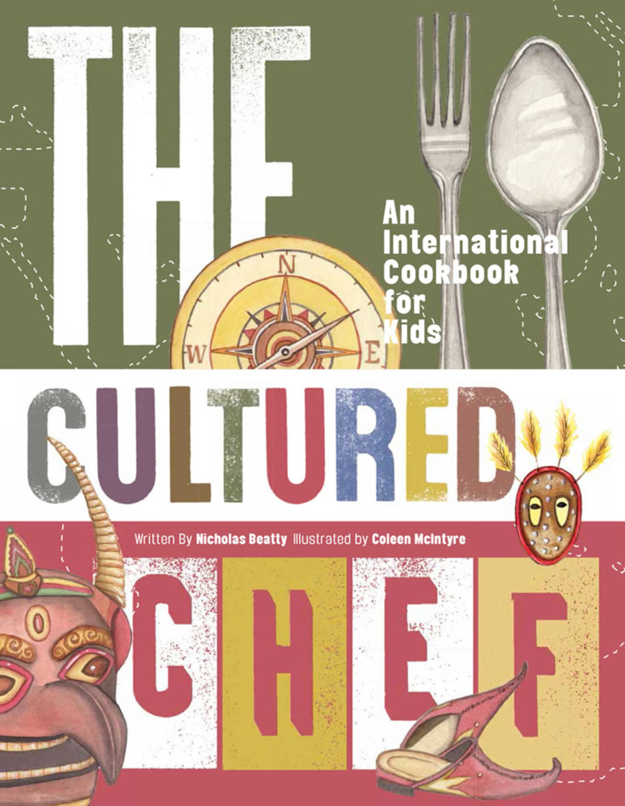 """The Cultured Chef"" by Nicholas Beatty and Coleen McIntyre."