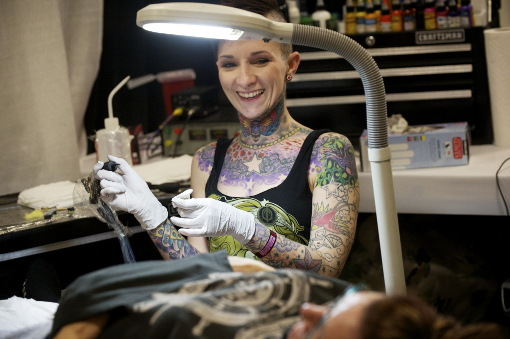 Tattooists in sync with ink at Body Art Expo   The Columbian