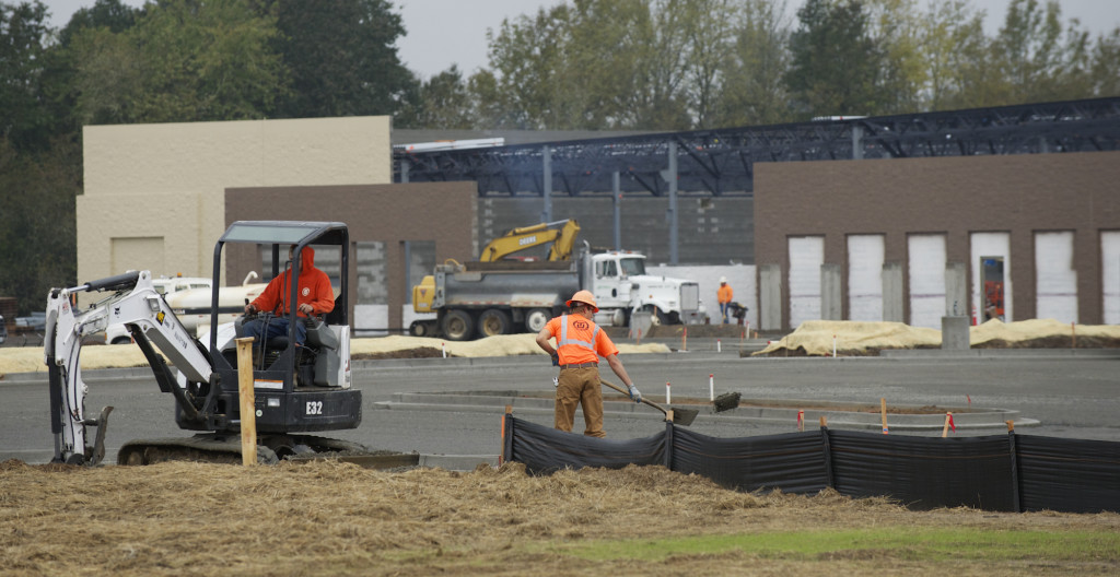 Construction Of A Battle Ground Walmart Store Heads Toward 2014 Completion By Subcontractor Crews