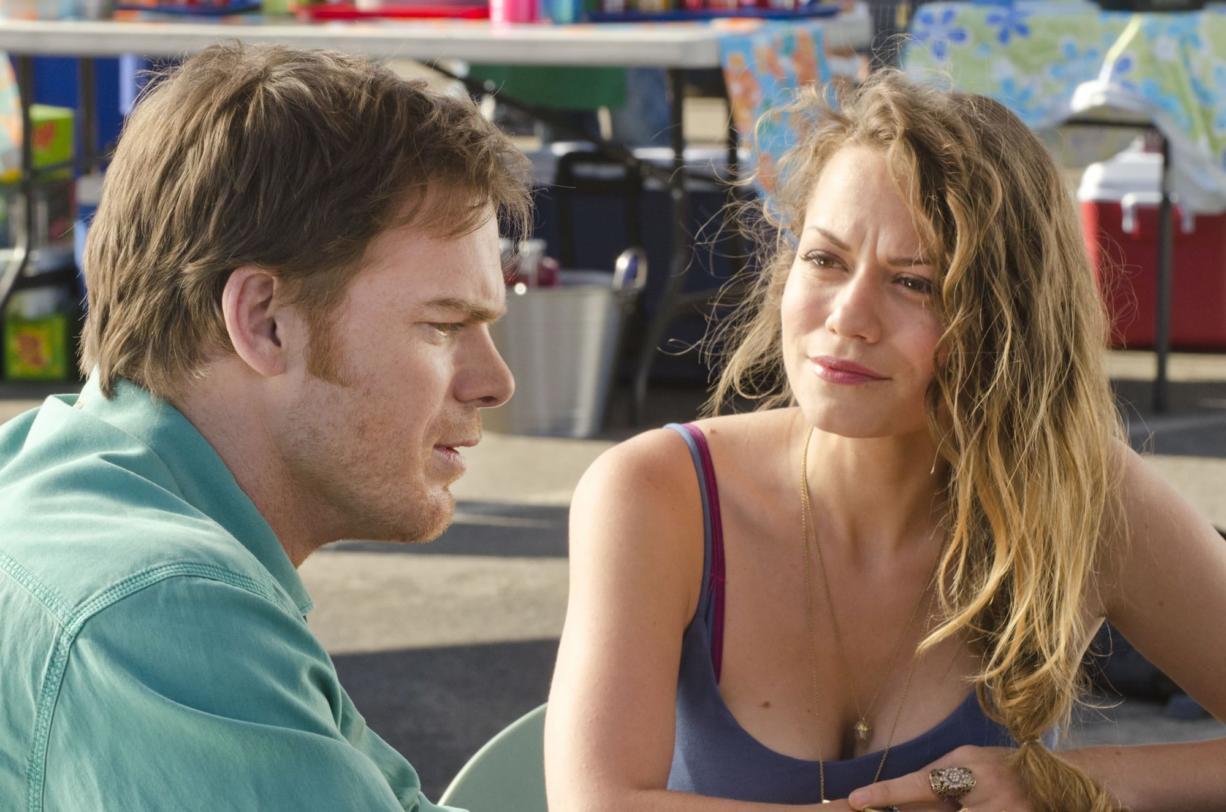 "Former Battle Ground actress Bethany Joy Lenz and ""Dexter"" star Michael C."