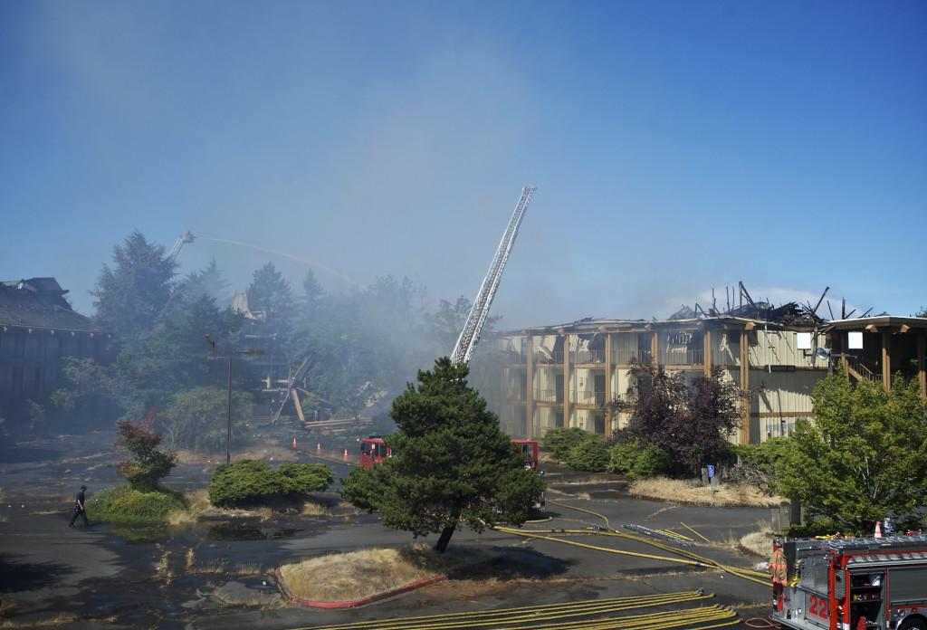 5 Million Damage At Former Hayden Island Hotel