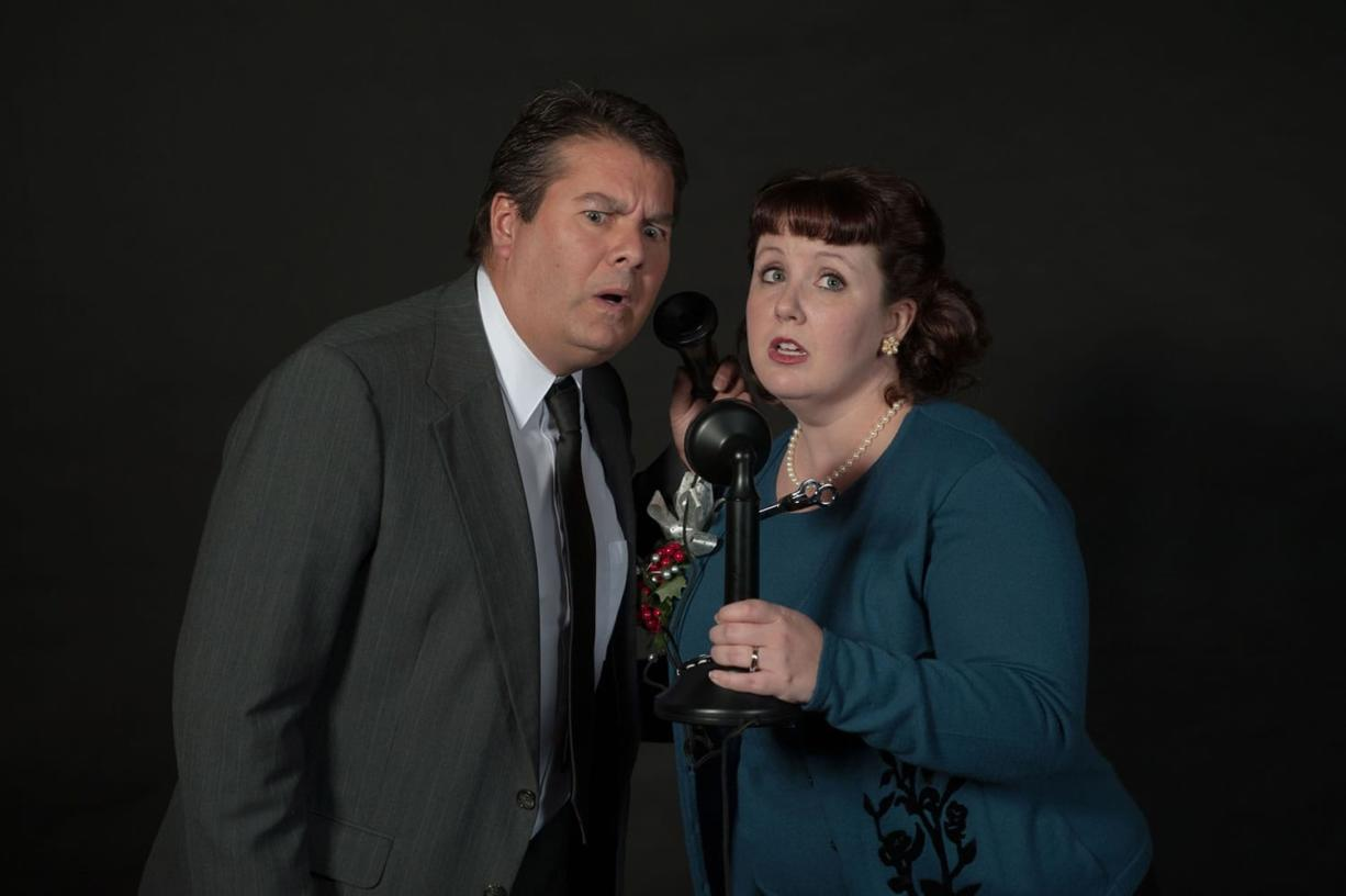 "The Love Street Playhouse production of ""It's a Wonderful Life"" stars Kevin Taylor as George Bailey and Bethany Pithan as Mary. Both actors are from Longview."