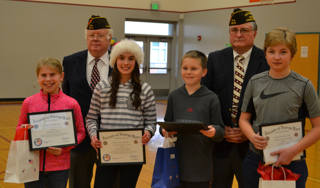 Veterans Essay Contest Winners Named  The Columbian Veterans Essay Contest Winners Named