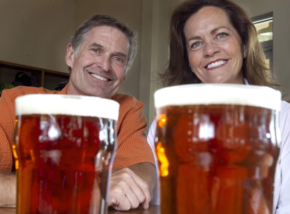 Mike and Cheryl Smith are raising money for ALS research by offering craft brewers a mixture of hops for beer.