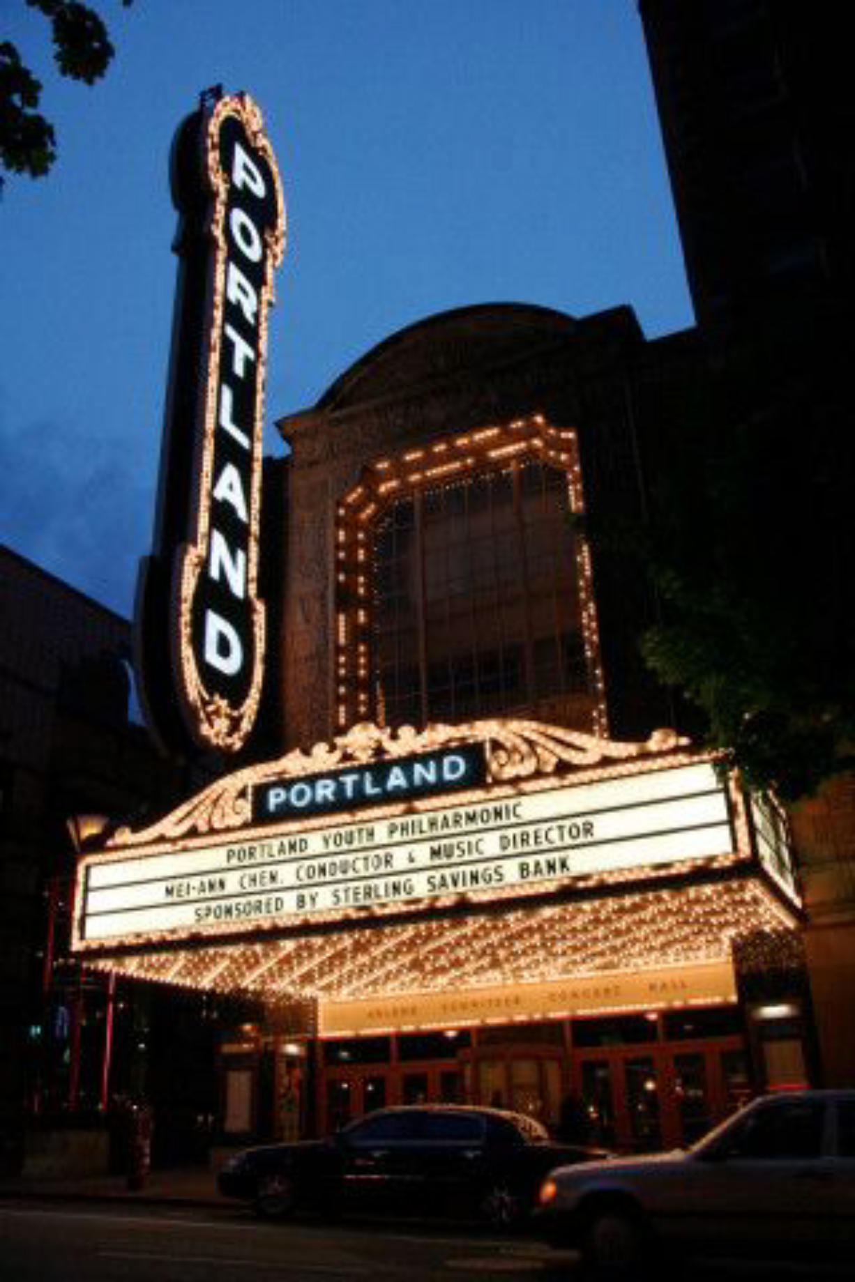 The Arlene Schnitzer Concert Hall is one of 5 venues covered by the organization.