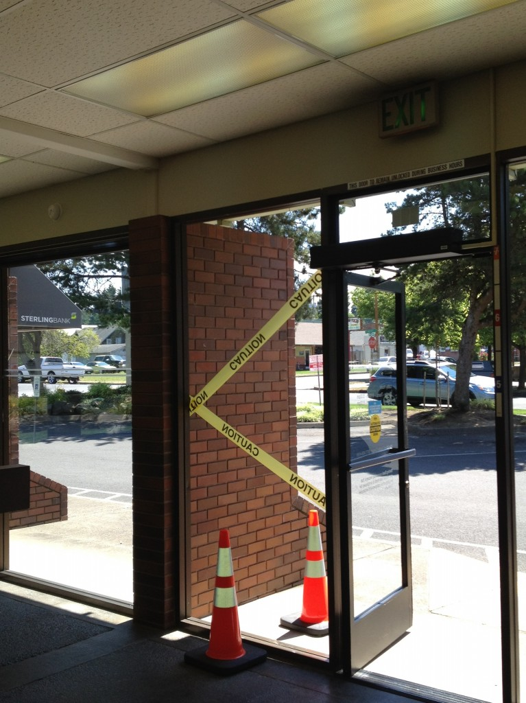Woman Injured After Walking Through Glass Window In Ridgefield The